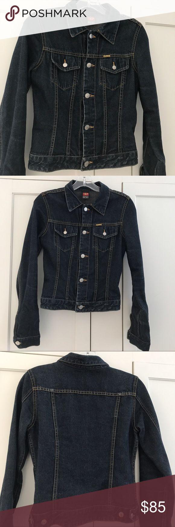 """Diesel women's jeans jacket Diesel women's jean jacket....like new condition....length 19"""", armpit to armpit 16"""" diesel Jackets & Coats Jean Jackets"""