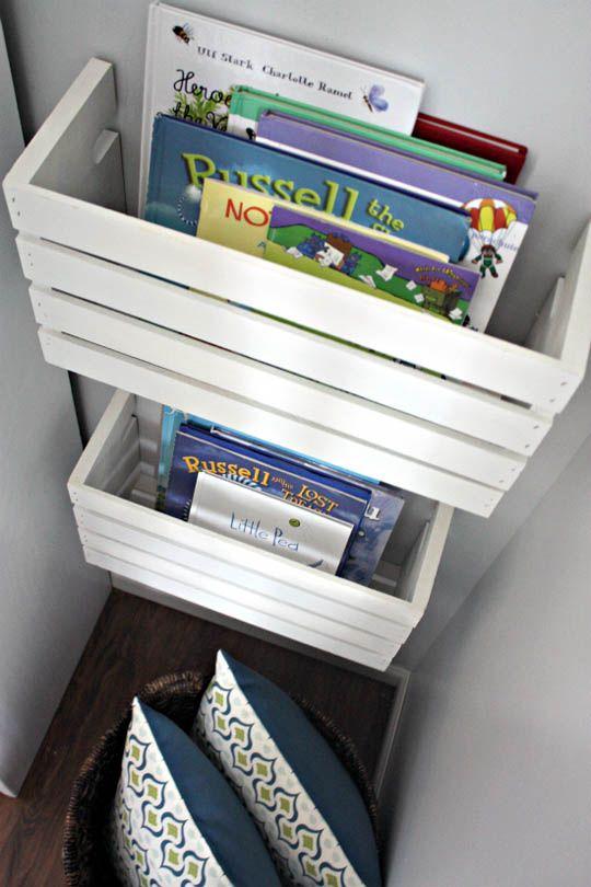 craft book storage.