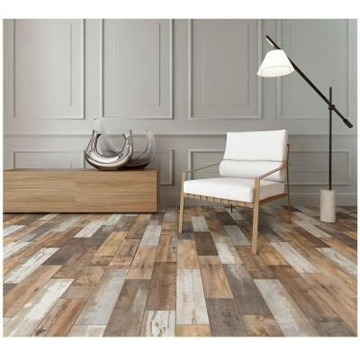 MARAZZI Montagna Wood Vintage Chic 6 in. x 24 in. Porcelain Floor and Wall  Tile (14.53 sq. ft. / case) - 14 Best Flooring Images On Pinterest