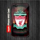 Liverpool Football Club FC iPhone 4, 4S Case - Black Case #iPhone4 #iPhone4 #PhoneCase #iPhone4Case #iPhone4Case
