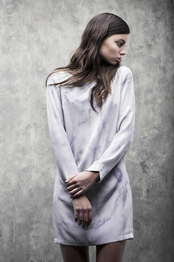 Carrara Marble Dress