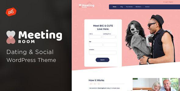 Meeting Room - Social & Dating BuddyPress Theme (BuddyPress)  https://themeforest.net/item/meeting-room-social-dating-buddypress-theme/20225305