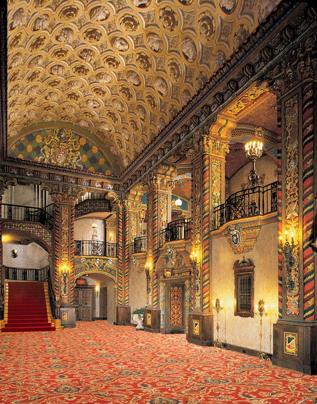 Louisville Palace Theatre - Have to go see the summer movie series (Cary Grant...other classics)