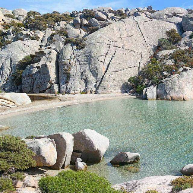 Cala Caprarese, isola di Caprera. Sardinia/Cerdeña/Sardegna.