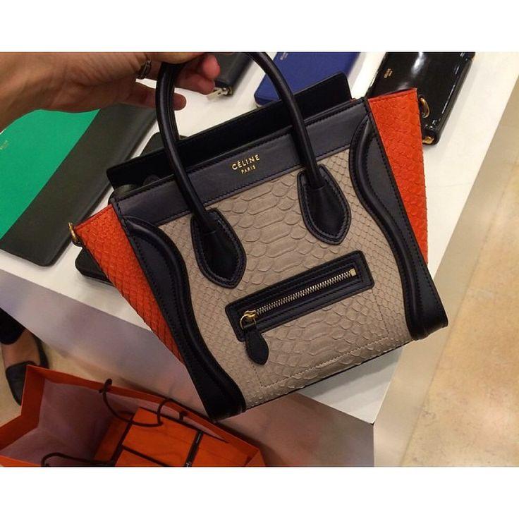 Luxnelle Lookbook \u2014 Luxnelle Celine python nano bag | Luxnelle ...