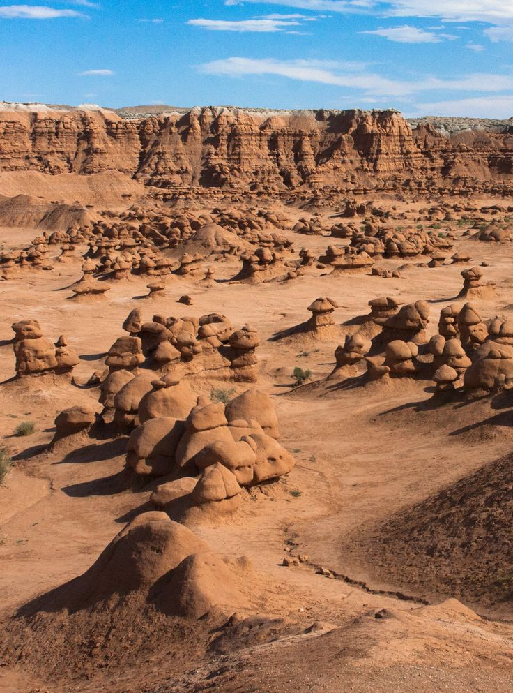 Goblin Valley, Utah is unlike any other place in the world. The landscape, covered with sandstone goblins and fascinating formations, is often compared to Mars.
