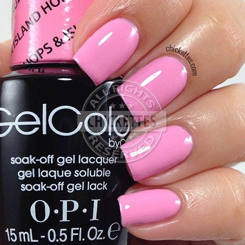 OPI GelColor Hawaii Collection – Suzi Shops & Island Hops – Chickettes.com – Health & beauty