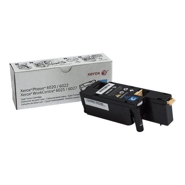 XEROX 6020/6022/6025/6027 Tonerkartusche – Cyan – 1.000 Seiten