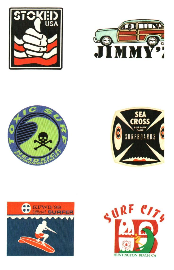 Vintage Surf Logos   Surf   Sand   Pinterest