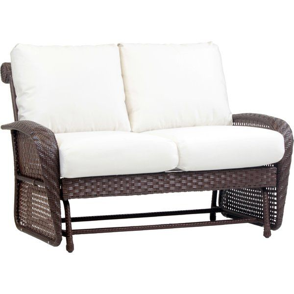 Best Comfortable Soundview Double Glider Bench With Cushions By Bay Isle Home Furniture Patiofurniture Patio Loveseat Patio Rocking Chairs Outdoor Living