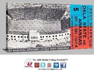 arkansas razorbacks football   , Arkansas Razorback football tickets, vintage Arkansas football ...