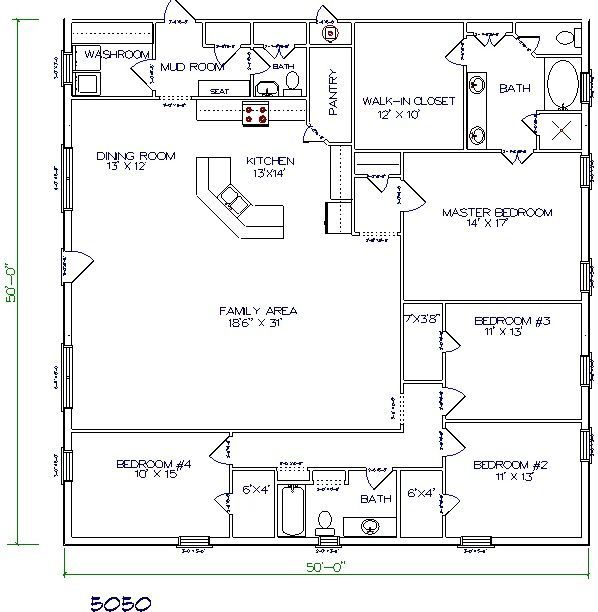 316 best House plan images on Pinterest Dream home plans, Dream - copy barn blueprint 3
