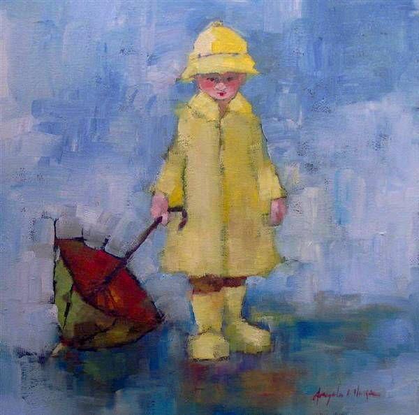 Angela Morgan. Preparing For Rain