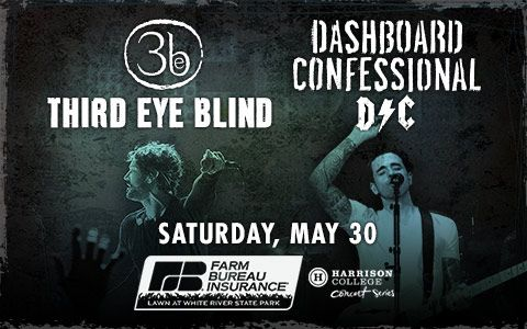 THIRD EYE BLIND and DASHBOARD CONFESSIONAL | White River State Park
