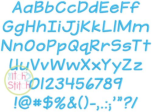 I2S Teeny Tiny Embroidery Font In Font Sizes 025quot 05