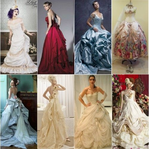 Victorian wedding dresses style beautiful wedding for Victorian era wedding dresses