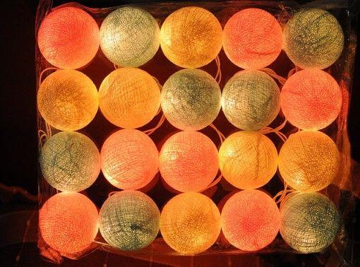 Pynt med #Cottonlights i pastellfarger som gir et lunt og trivelig lys. Det er 20 kuler og lenken er ca. 3 meter lang. Kun 239,- (Vi har mange andre farger og varianter også <3