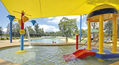 Welcome to BIG4 Karuah Jetty Holiday Park - this is our swimming pool and water play area for kids
