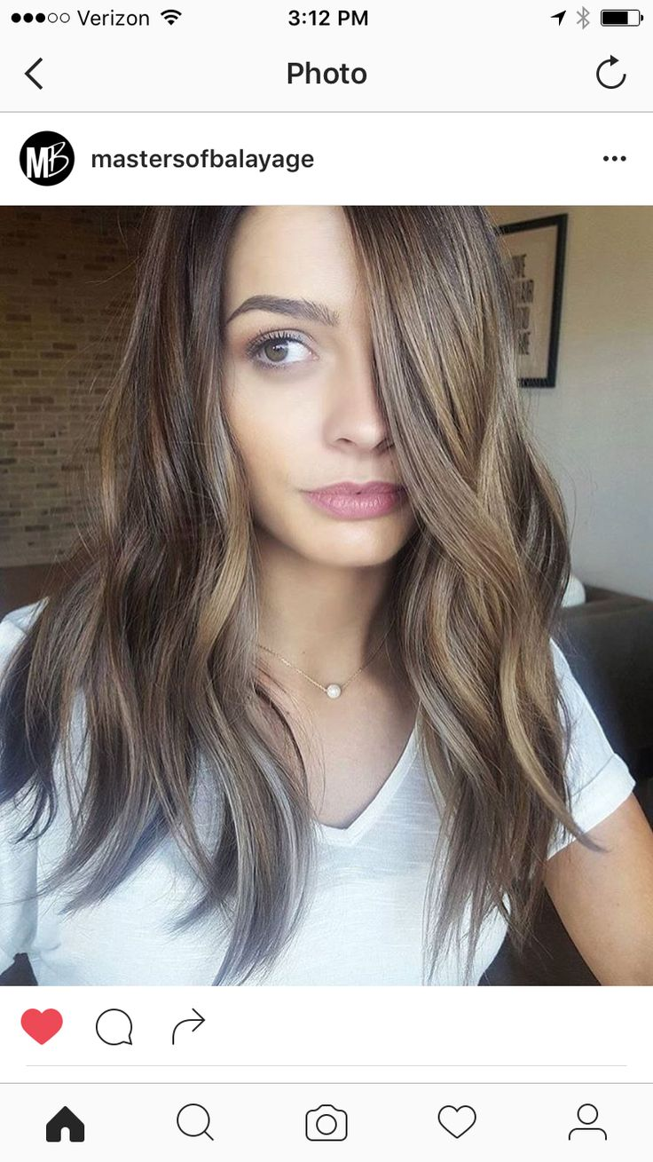 42 Best Images About Balayage Brunettes On Pinterest