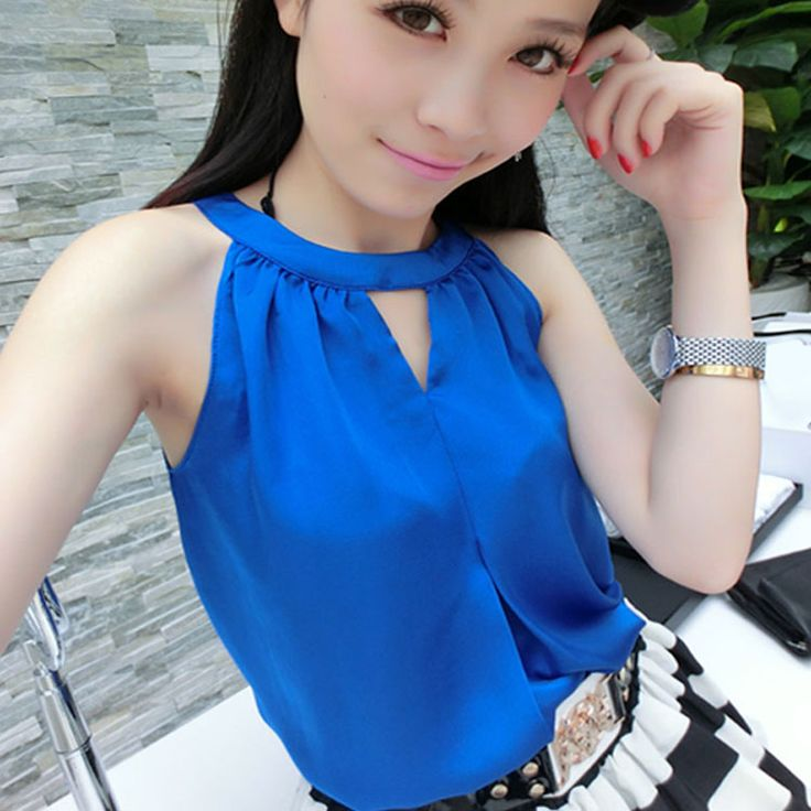 Find More Blouses & Shirts Information about New Summer Solid Color Halt Top Sleeveless Off Shoulder Loose Casual Women Tank Tops In Stock Womens Tops Fashion 2014 Brands,High Quality tank pump,China tank top dress pattern Suppliers, Cheap top ballets from Tina Fashion Woman Clothing Store on Aliexpress.com