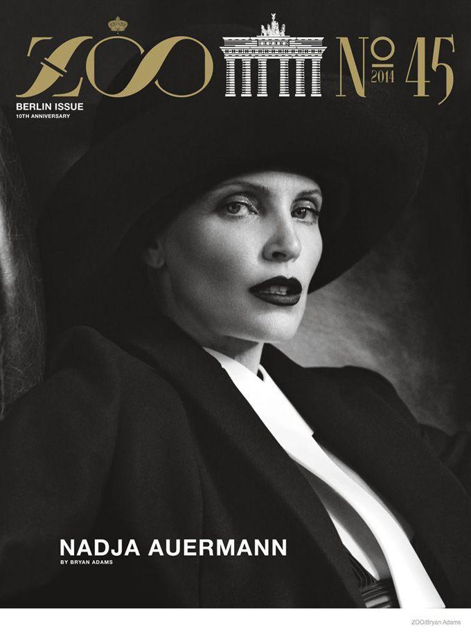 Надя Ауэрманн в Zoo Magazine \ Fashion Photo