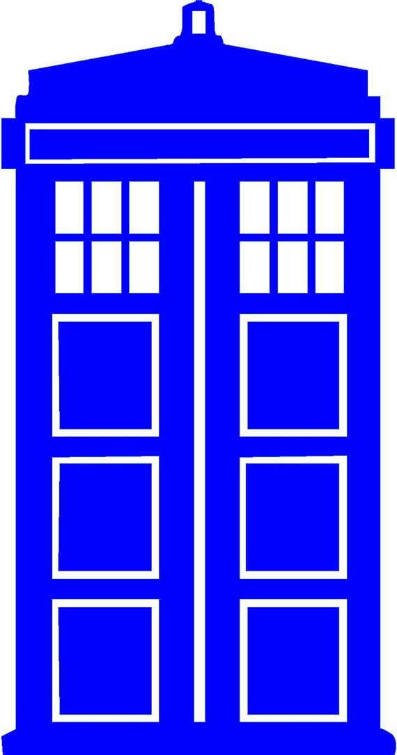 Dr. Who TARDIS Doctor Who baD Wolf SciFi by StickItStickers