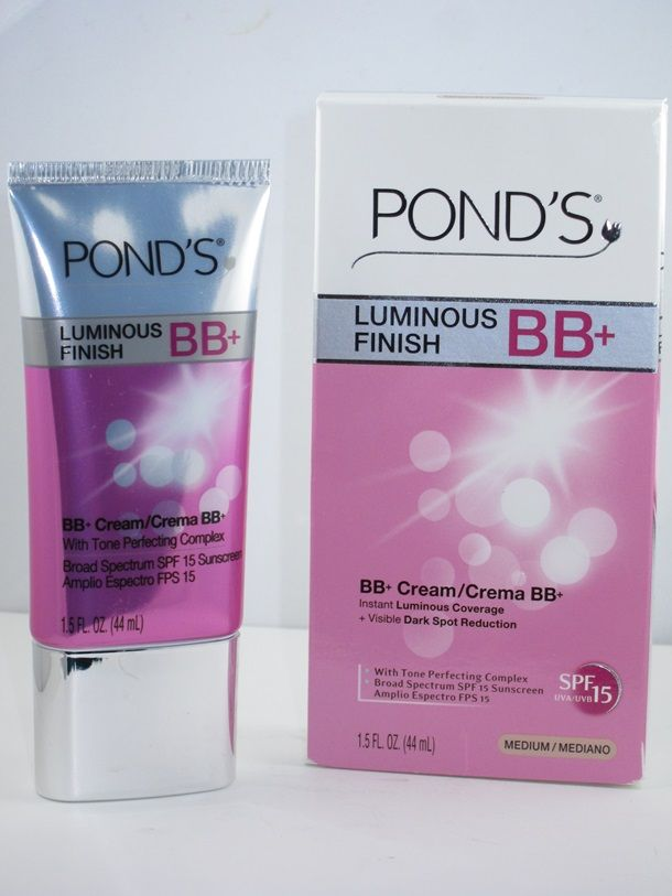 Ponds Luminous Finish BB Cream I will be doing a review of this product soon. I've never used a BB cream, so can't wait to try it!
