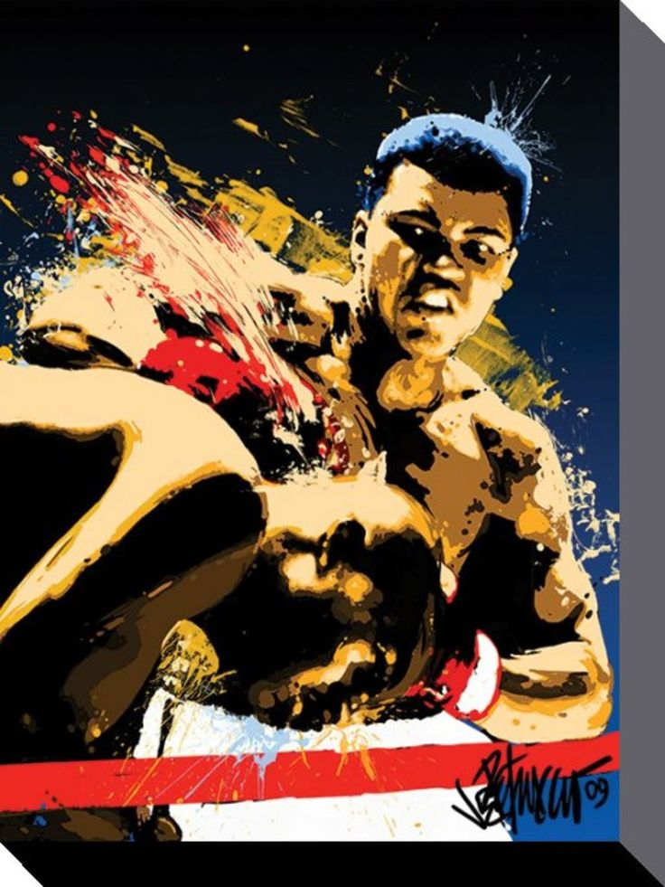 Muhammad Ali - Stung - Official Canvas Print