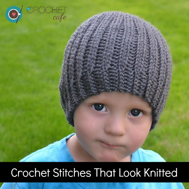 Crochet Stitches that Look Knitted