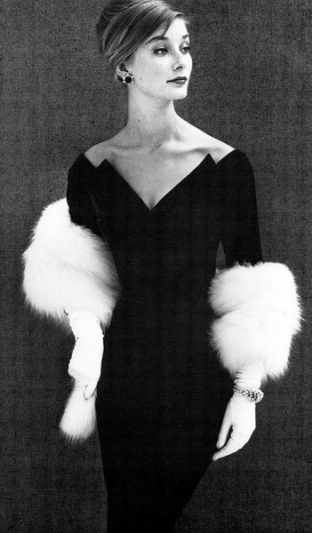 Tania Mallet 1960's  Great neckline-sexy and covered up at the same time.