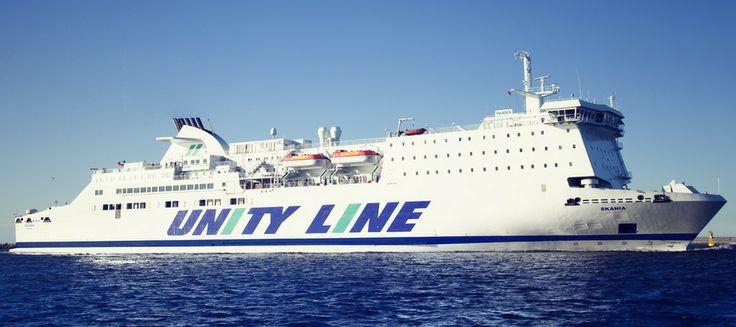 #unityline #prom #ferry #skania #sea #poland #sweden #świnoujście #szczecin #ystad