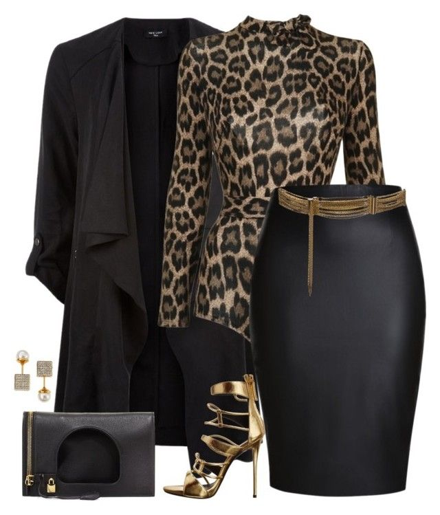Wild thing by fashionkill21 on Polyvore featuring Agent Provocateur, Giuseppe Zanotti, Tom Ford, Vita Fede and Lanvin