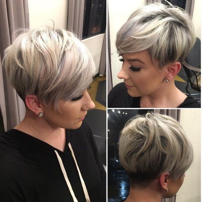 undercut women short