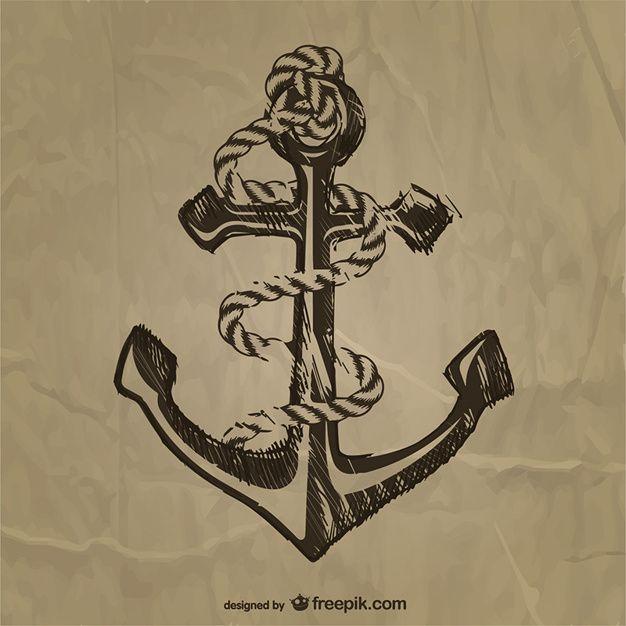26 best vintage anchor tattoo images on pinterest vintage anchor rh pinterest co uk Traditional Anchor Tattoo Beautiful Simple Anchor Tattoos