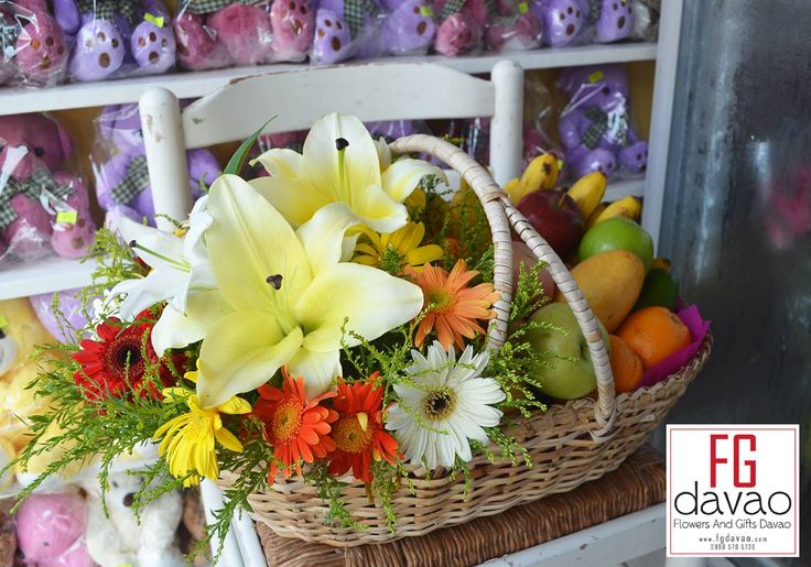 Fruit and Flower Basket  Flowers Gifts Delivery www.FGDavao.com 0998 579 5720 #flowerbasket #fruits #fruitsbasket #flowersandgifts #flowersandgiftsdelivery #sendgifts #giftsdavao #giftsph #fggifts #fgdelivery #giftshop #flowershop #flowers #flowersdavao #flowersph #florist #davao #ph