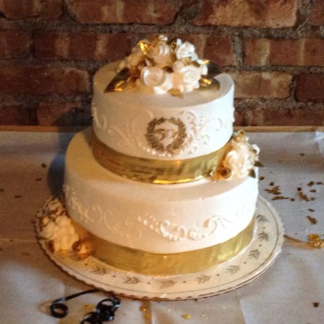 50th Wedding Anniversary Cakes: 50th Anniversary Cake