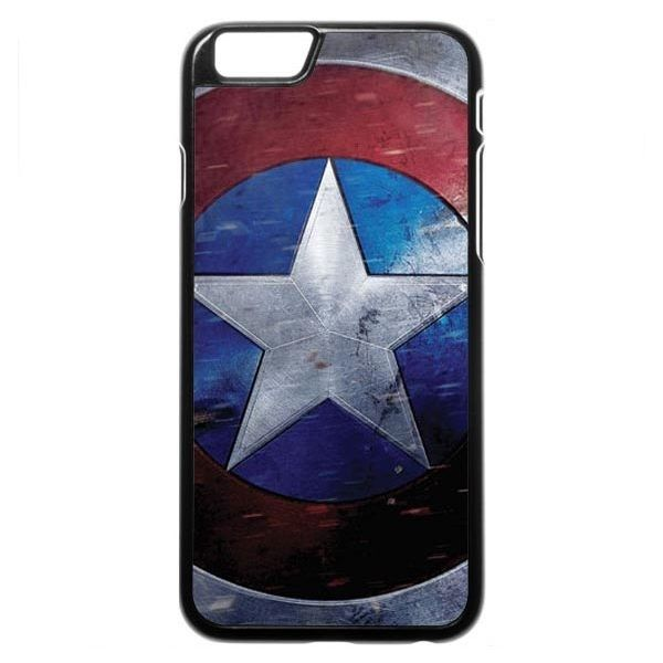 Captain America (shield scuffed) iPhone 6 6s Case ($97) ❤ liked on Polyvore featuring accessories, tech accessories, phone and phone cases