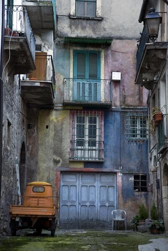 Houses in Pratola Peligna, Italy