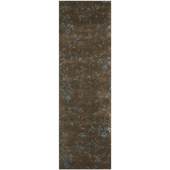 With a plush 0.5-inch pile height, this soft wool rug is a welcoming touch of cushion to your tired feet. A dense, thick pile of New Zealand wool highlights this handmade rug.