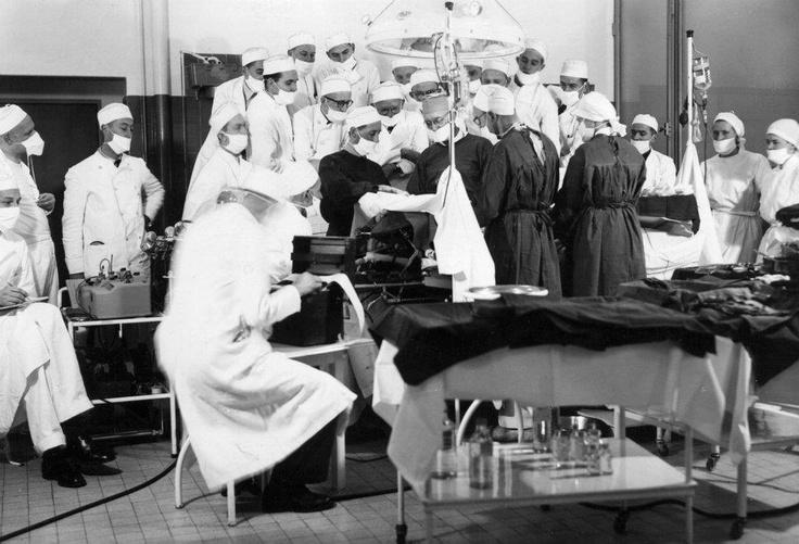 De oude chirurgie afdeling.
