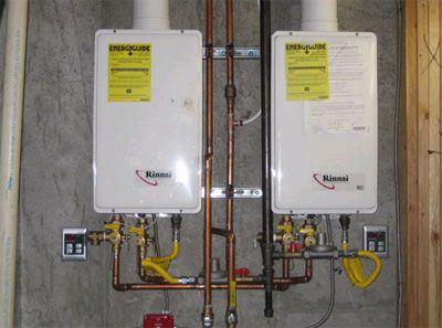 Tank Less Water Heater Installation