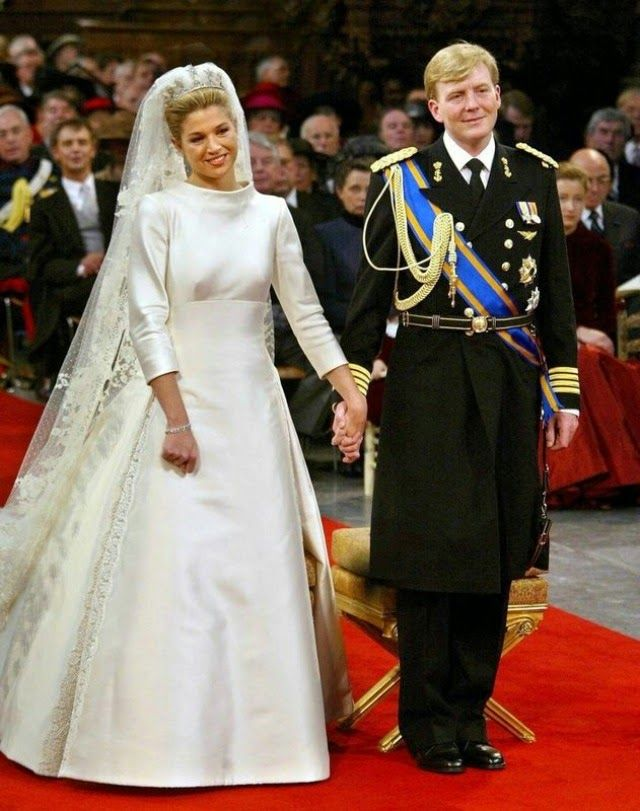 Happy 13th Wedding Anniversary to King Willem-Alexander and Queen Maxima of the Netherlands, they married 2/2/2002