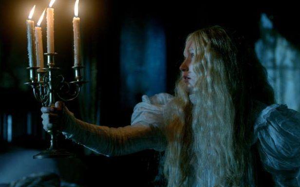 Mia Wasikowska as heroine Edith Cushing