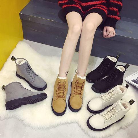 Super+warm+winter+boots+with+flat+heels.  Size:+Euro+35-40  Please+use+size+conversion+chart+below:  http://www.shoemetro.com/t-shoe-size-chart.aspx