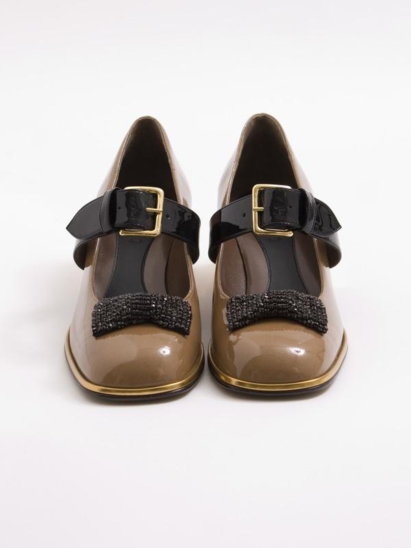 Marni Patent Bow Shoe