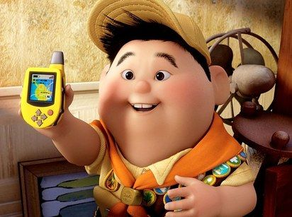 """Russell was heavily influenced by story artist Peter Sohn.   19 Things You Probably Didn't Know About Disney Pixar's """"UP"""""""
