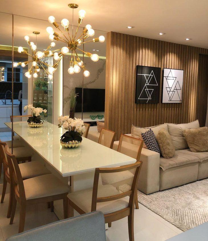 Apartamento decorado: 50 hermosas habitaciones para inspirar su decoración.