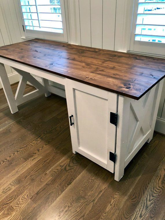 Wonderful Pic Farmhouse Desk Target Tips This Was My First Wood Project Ever No Prior Experience And No Too Home Desk White Office Furniture Home Office Desks