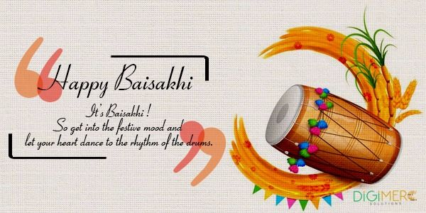 Dance to the rhythm of #Bhangra & #Giddha. Celebrate the golden harvest of joy. Wishing you all happiness & good cheers...on this Baisakhi & years ahead. Happy Baisakhi! :-)