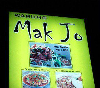 Warung Mak Jo; #indonesianfood #bali #warung #makjo